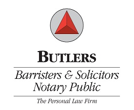 Butlers Barristers & Solicitors logo